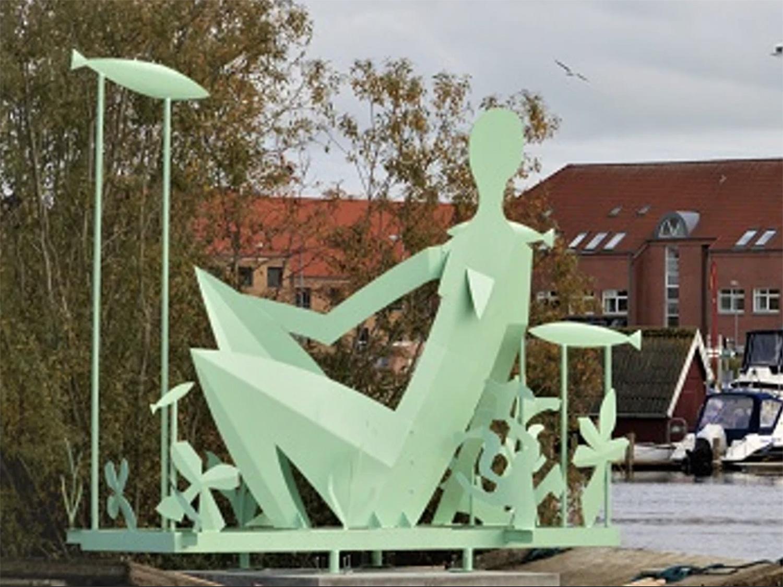 Guidet byvandring: Sven Dalsgaards værker og yndlingssteder i Randers