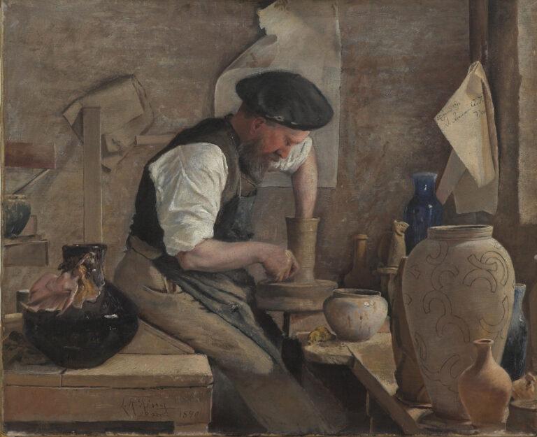 Introduktion til mesterværker i museets samling